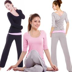 Ah yoga clothes, how comfy....just don't tell Clinton and Stacy!