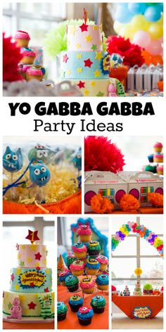 Awesome ideas at this Yo Gabba Gabba birthday party for a twin boy and girl! See more party ideas at CatchMyParty.com.