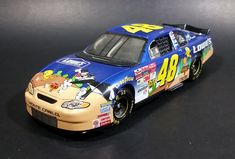 2002 Action Racing Warner Bros Looney Tunes Jimmie Johnson #48 Nascar Monte Carlo 1/24 Scale Die Cast Toy Model Vehicle https://treasurevalleyantiques.com/products/2002-action-racing-warner-bros-looney-tunes-jimmie-johnson-48-nascar-monte-carlo-1-24-scale-die-cast-toy-model-vehicle #2000s #ActionRacing #WarnerBros #LooneyTunes #Lowes #JimmieJohnson #Nascar #Racing #RaceCar #MonteCarlo #DieCast #Toy #Car #Collectible