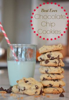 {Best Ever} Chocolate Chip Cookie Recipe -- Life in Grace