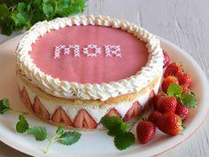 Recept på flädermoussetårta med jordgubbar Mor is mother