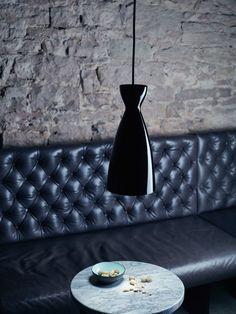 Nyta Pretty Long - Klassiche #Design #Lampe aus dem Hause #Nyta. #Schwarz #Leuchte #Einrichtung #einrichtungsideen