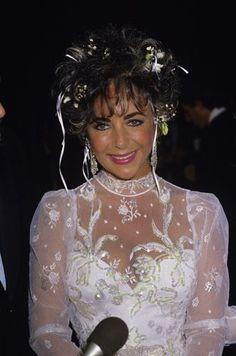 Elizabeth Taylor  1980s