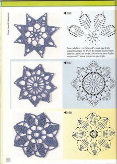 Gallery.ru / Фото #73 - Pontos de croche 205 идей - accessories