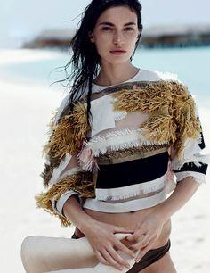 Emma Tempest for Vogue Russia via Coco + Kelley