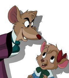 The Great Mouse Detective by VooDooDollMaster.deviantart.com on @deviantART