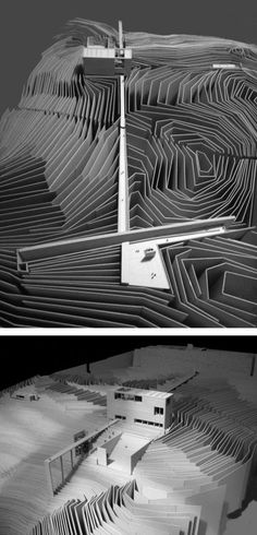 Geological History Museum, Santorini Greece   Source: Architectural Models