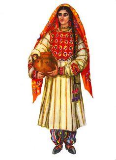 Traditional costumes of Tajikistan
