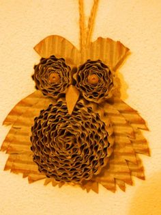 Tvoření od IVETULE: Sova z papíru