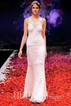 Claire Pettibone 'Poppy' wedding dress