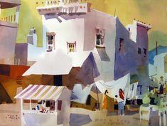 """Frank Webb, """"San Miguel Allende,"""" 1994."""