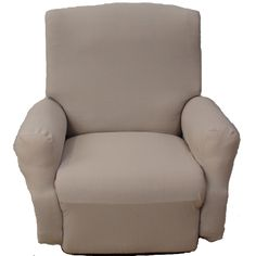 Recliner Slipcover Stretch - Soho - Natural - closest Iu0027ve found to fitting my  sc 1 st  Pinterest & Stretch Damask Recliner Slipcover | Recliner Covers | Brylanehome ... islam-shia.org