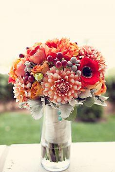 Bouquet do dia & Decoração Laranja