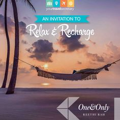 Unwind at One&Only Reethi Rah Book your online ticket at www.Yourtravelsecretary.com or Call (+91)-124-422-4111 #ilovetravel #passportready #holiday #fun #adventure #vacation #view #beaches #beachday #wanderlust #paradise #sun #tan #explorebestbeaches #beachlife #oneandonlyreethirah #maldives #travel #tourism #tourist