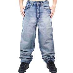 Mens Levis Silvertab Baggy Jeans 33 x 30 Blue Denim Silver Tab