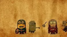 Minion Avenger HD 1080p Wallpapers Download