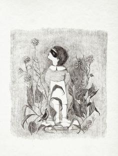 yesterday child  giclee print by mariaelina on Etsy, $45.00