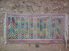 Colored Hanbel Rug