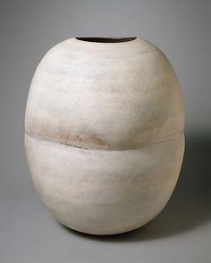 Pot Pot Designer: Hans Coper (British (born Germany) 1920–1981) Date: 1975 Medium: Stoneware Dimensions: H. 18-1/8, W. 15-1/4 inches (46 x 38.7 cm.) Classification: Ceramics-Pottery Credit Line: Gift of Jane Coper, 1993 Accession Number: 1993.230