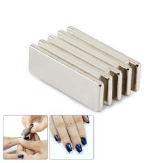 1Pc Cat Eye Strong Magnet Slice 3D Effect Magnetic Stick for UV Gel Polish Nail Tool # 35975