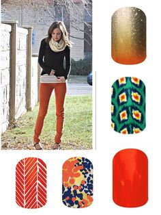 Jamberry nail wraps 2014 Fall Line. #jamberrynailwraps Click the image to shop the entire Jamberry collection! http://sarahmederos.jamberrynails.net