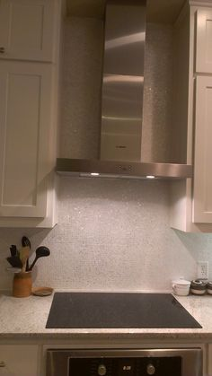 White Micromosaic Mother of Pearl Tile Backsplash- tilecircle.com