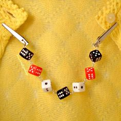 Retro 50s Sweater Clips Guard Vintage Style by blacktulipshop, $12.00