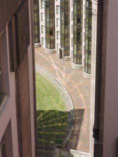 Les Espaces d'Abraxas Vue depuis le Palacio