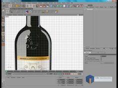 Speed modelling Cinema 4D : Wein Szene / Wine Scene Modelling, Light & Texturing - YouTube