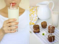 Almond Milk and Cookies