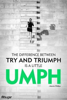 Put some UMPH into it... #TrainingWithIntention