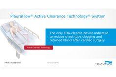 PleuraFlow Active Clearance Technology System