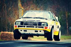 Race Retro 2010 Rally stage-Walter Roehrl- Audi Quattro A2 - Works HB Audi Team | Flickr - Photo Sharing!