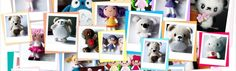 Free Patterns | AmigurumiBB's Blog.. So many very cute ones, Smurfs; juggling balls ie Minion, Angry Bird, Hannibal and more; Dolls .... definitely on my must do list!!