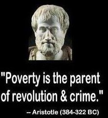 "Poverty is the parent of revolution and crime. ""The opposite of poverty is justice"" ~~Bryan Stevenson. ""Poverty is man-made and it can be undone by human action. Wisdom Quotes, Me Quotes, Motivational Quotes, Inspirational Quotes, Peace Quotes, Witty Quotes, Crime, Guter Rat, Philosophy Quotes"