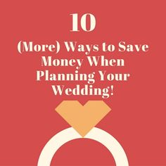When it comes to wedding planning, (almost) everyone has a budget they're working to adhere to. That can be easier said than done!