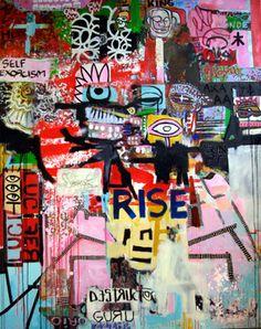 """Saatchi Online Artist ziegler pierre; Painting, """"Lucifer rising"""" #art"""