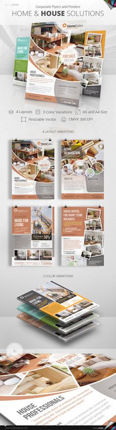 Home And House - Flyer and Poster - Corporate Flyers