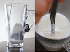How to make a London Fog Latte (recipe from Second Cup!), I miss this more than I should!
