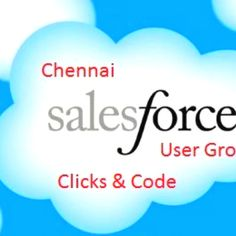 Chennai salesforce developer user group