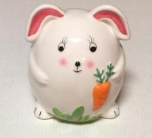 Woolworths Easter Bunny Ceremic Kids Piggy Bank | Ornament, Piggy Bank | $5.00 AUD | buyniknaks.com