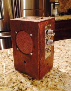 Cigar box amp.  All home made.