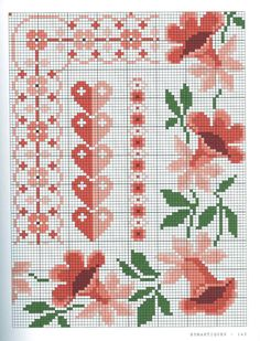 Cross Stitch Fruit, Cross Stitch Needles, Cross Stitch Heart, Cross Stitch Borders, Cross Stitch Flowers, Cross Stitch Designs, Cross Stitching, Cross Stitch Embroidery, Wedding Cross Stitch Patterns