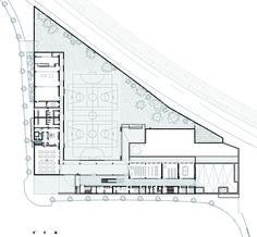 School Isabel Besora,Ground Floor Plan