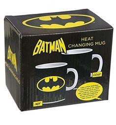 Batman Mug, Heat Change Logo: Amazon.co.uk: Kitchen & Home