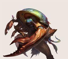 ArtStation - Horseshoe crab, Yu Cheng Hong