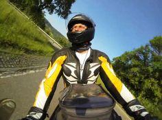 Hier habe ich mich mit meiner GoPro Hero3 selbst gefilmt. Das Video steht auf YouTube ... Gopro, Videos, Motorcycle Jacket, Youtube, Jackets, Fashion, Down Jackets, Moda, Fashion Styles