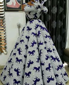 100 Latest Ankara Styles In Vogue For Smart Ladies/Women Latest African Fashion Dresses, African Dresses For Women, African Print Fashion, African Attire, Dashiki Prom Dress, Ankara Dress, African Print Dress Designs, African Traditional Dresses, Vogue