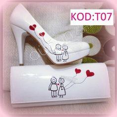 Ez Ayakkabı Diyarı #ozel #tasarim #gelin #ayakkabisi