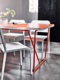 Under februari kommer flera spännande nyheter till IKEA varuhusen - bland annat efterlängtade kombinationer bordsskivor och ben som piggar upp matplatsen i vår.